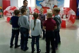 """""""Бампербол в Тюмени!"""" на детском Дне рождения. 29.10.2016"""